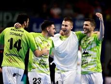 Palma logra su primer triunfo y Burela firma las tablas con el Levante. EFE/Javier López