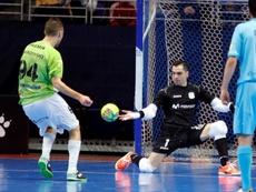 Paradynski admite que la Liga es un título muy deseado en ElPozo Murcia. EFE