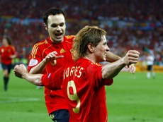 Torres scored the winning goal in the final of Euro 2008. EFE