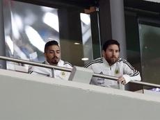 Messi opinó sobre el 6-1 de España a Argentina. EFE/Javier Lizón