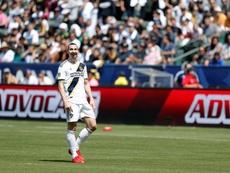 El sueco hace historia en la MLS. AFP