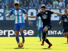 Málaga y Dépor se enfrentan esta temporada en Segunda División. EFE/Archivo