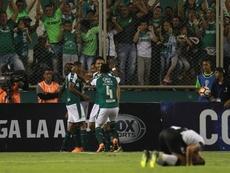 Delgado anotó uno de los goles. EFE/Archivo