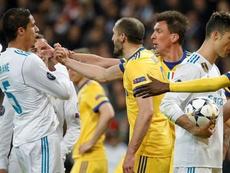 Chiellini speaks on Sergio Ramos. EFE