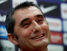 Valverde salió contento del amistoso en Sudáfrica. EFE