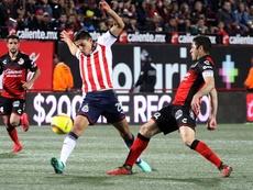 Cisneros abandona Chivas tras sufrir varias lesiones de importancia. EFE