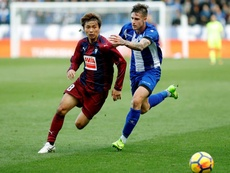 Vigaray fichó por el Zaragoza hace poco. EFE/Archivo