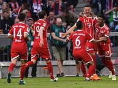 Bayern goleia após ser campeão. AFP