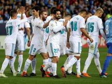 Real Madrid relembra sua última LaLiga. EFE