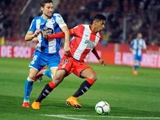 Asistió a la victoria del Cádiz ante el Extremadura. EFE
