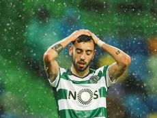 El cuerpo técnico del Sporting no cree que Bruno se quiera ir. EFE