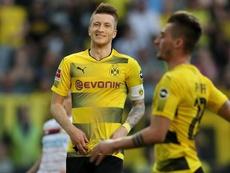 O Dortmund bateu o Leverkusen por 4-0. EFE/EPA