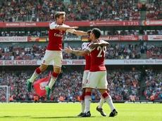 Póker del Arsenal. EFE/EPA