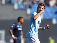 La Lazio a dû avancer son match. EFE