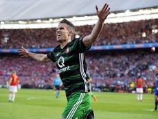 Van Persie renova com o Feyenoord. EFE