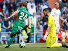 Brasanac tiene difícil volver a jugar en el Leganés. EFE