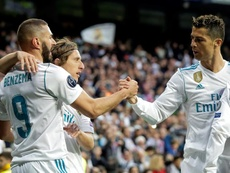 Benzema y su racha amenazan a Cristiano. EFE