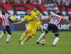 Leonardo Jara no cuenta para Boca. EFE