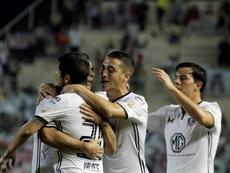 Valdés recordó su pasado en el 'Cacique'. EFE