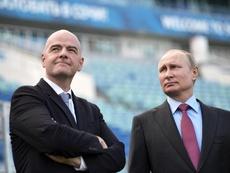 Rusia apoya a Infantino para seguir al frente de la FIFA. EFE