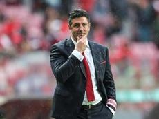 L'entraîneur du Benfica Rui Vitoria. EFE