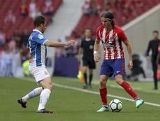 O Espanyol bateu o Atlético por 0-2. EFE