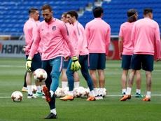 Oblak, gran referente defensivo del Atlético. EFE