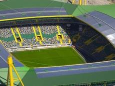 Vista geral do estadio Sporting José Alvalade. EFE/Archivo