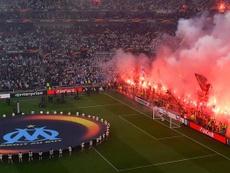 La UEFA impuso este miércoles una sanción al Olympique de Marsella. EFE