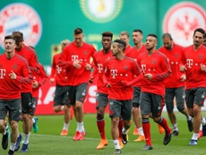 O jogo entre Bayern e Atlético não corre risco de ser suspenso. EFE