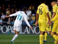 Bale evita derrota contra o Villarreal. EFE/Arquivo