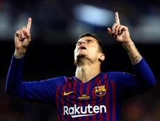 Philippe Coutinho quiere ganarlo todo con el Barça. EFE/Archivo