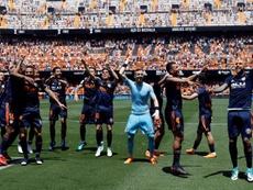 El Valencia acostumbra a arrancar la temporada con un triunfo. EFE/Archivo