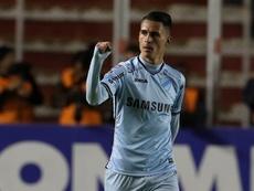 Callejón pone el gol en Bolívar. EFE