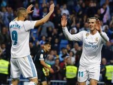 Benzema et Bale raflent tout en C1. EFE