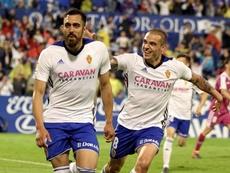 El Zaragoza cerró la temporada regular con la tercera plaza. EFE