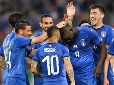 Mancini le dejó un mensaje a Balotelli. EFE