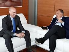 El Girona-Barça será llevado a la justicia ordinaria. EFE