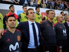 Lopetegui se atrevió a desafiar a la UEFA en la final del Europeo Sub 21 de 2013. EFE/Archivo