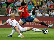Diego Costa y Koke cambiaron a la Selección Española. EFE