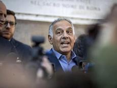 El presidente de la Roma, criticado. EFE/Archivo