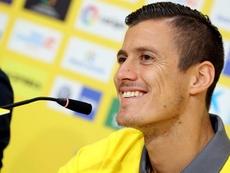 Mantovani se mostró autocrítico y confiado con las opciones de Las Palmas. EFE