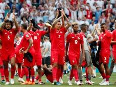 Panamá cerró su Mundial ante Túnez. EFE