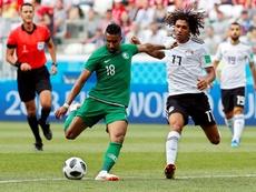 Arabia Saudí y Catar se juegan la primera plaza. EFE