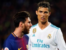 Who has scored more goals out of Messi and Cristiano. EFE/Archivo