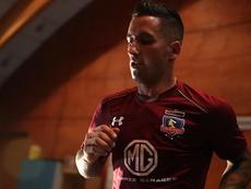 Lucas Barrios acudió al nutricionista de Messi. EFE