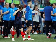 Modric se concentrará con la Selección de Croacia. EFE
