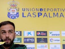 Deivid criticó el nivel ante el Badajoz. EFE