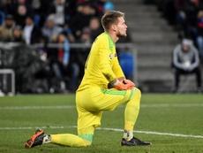 El meta se ha ganado la confianza del Sevilla. EFE