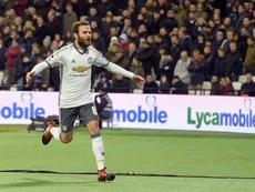 Juan Mata could make a fairytale return to the club. EFE